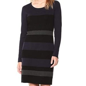 Tommy Hilfiger Women's Striped Sweater Dress